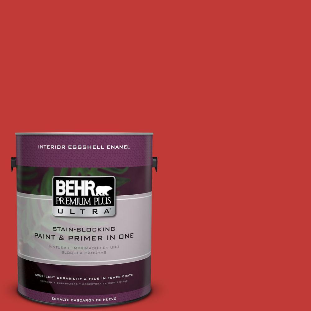 BEHR Premium Plus Ultra 1-gal. #P150-7 Flirt Alert Eggshell Enamel Interior Paint