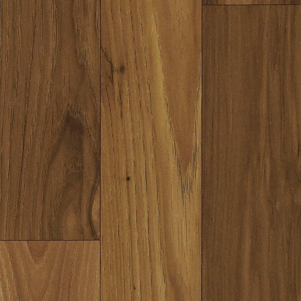 Shaw Native Collection Gunstock Hickory 7 mm T x 7.99 in. Wide x 47-9/16 in. Length Laminate Flooring (26.40 sq. ft. / case)