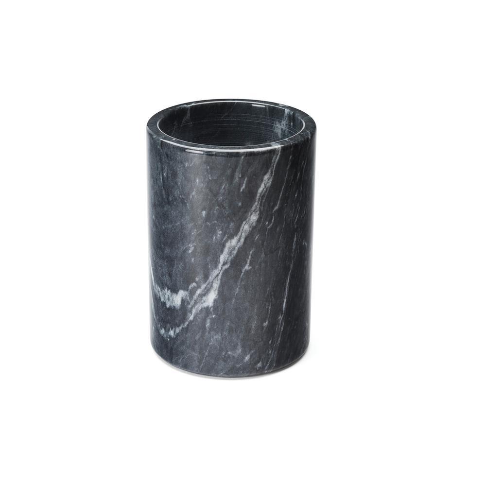 Black Marble Utensil Holder