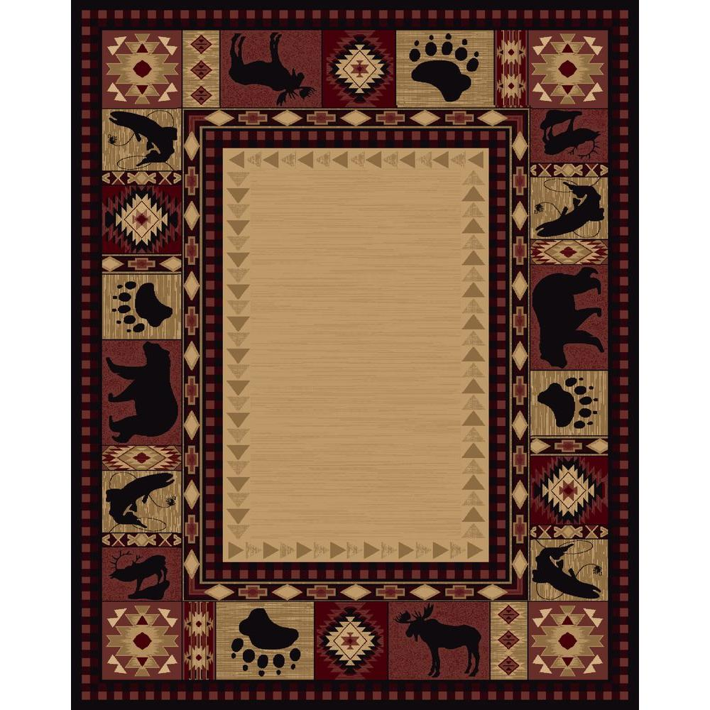 Balta US Northern Territory Red 7 ft. 10 in. x 10 ft. Area Rug