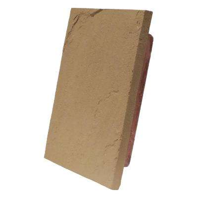 Sandstone Brown 10 in. x 13 in. Faux Polyurethane Stone Large Universal Mounting Block
