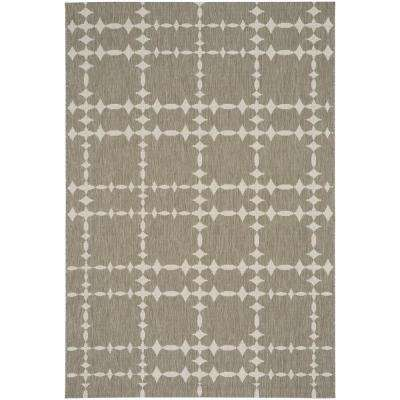 COCOCOZY Elsinore Tower Court Wheat 5 ft. 3 in. x 7 ft. 6 in. Area Rug