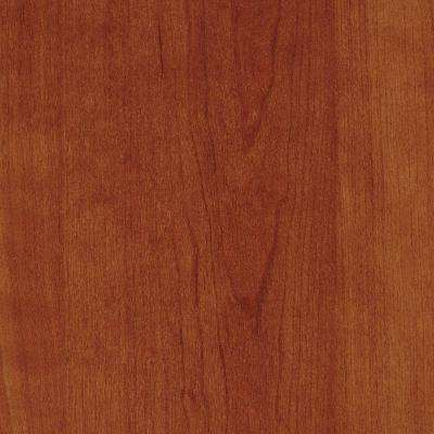 3 in. x 5 in. Laminate Countertop Sample in Biltmore Cherry with Premium Textured Gloss Finish