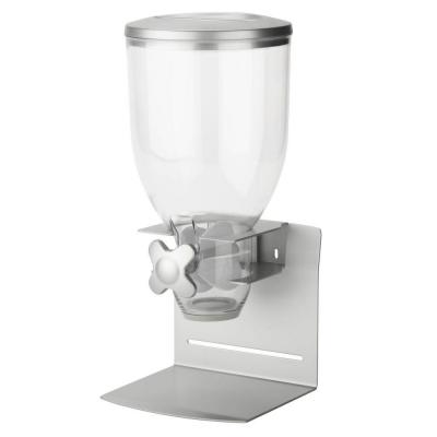 Pro Edition Single Dry Food Dispenser in Silver