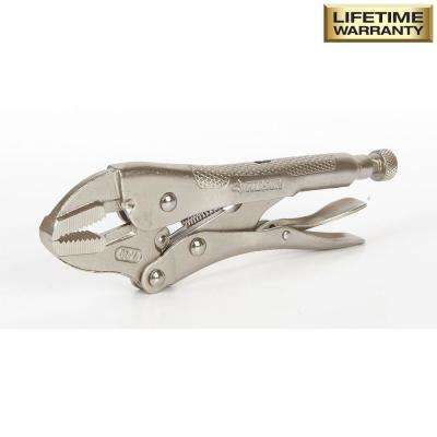 7 in Straight Jaw Locking Pliers