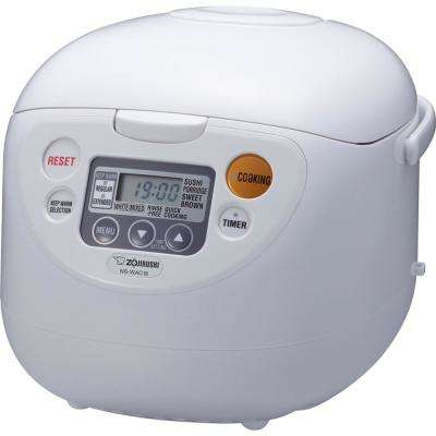 Micom Rice Cooker and Warmer White 10 Cup