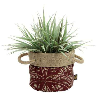 6 in. Nahla Fabric Floor Planter
