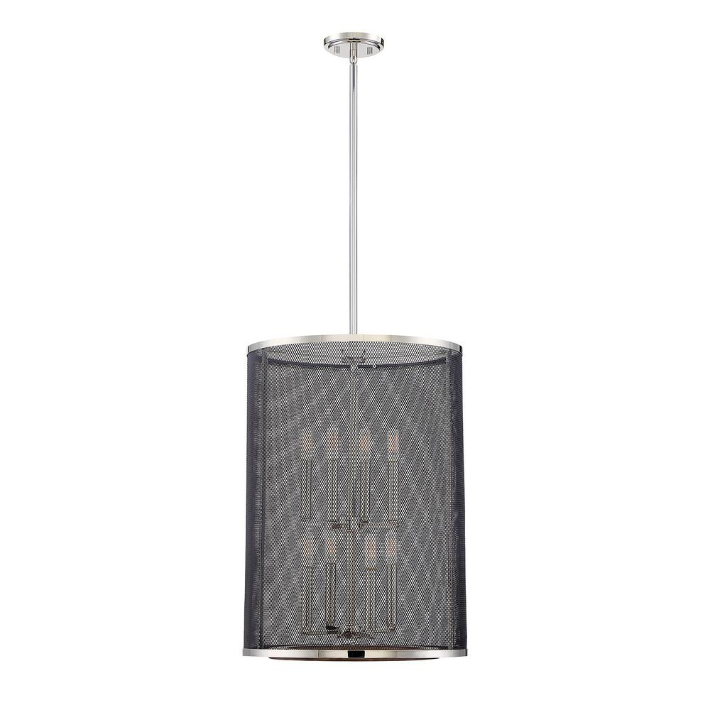 Fifth and Main Lighting 4-Light Polished Nickel Pendant with ...