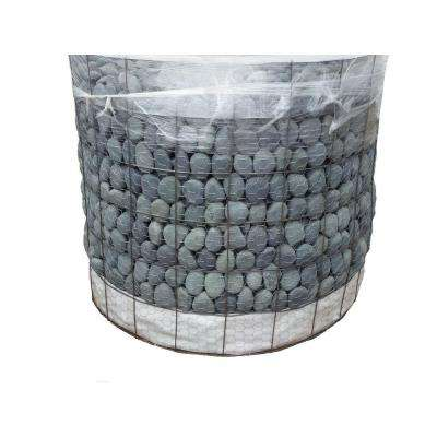 2 in. to 3 in., 3000 lb. Mexican Beach Pebbles (Bulk Pallet)