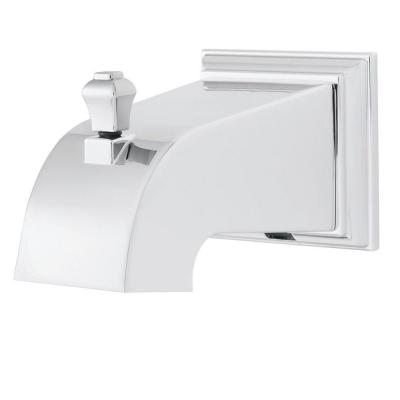Rainier Diverter Tub Spout in Polished Chrome