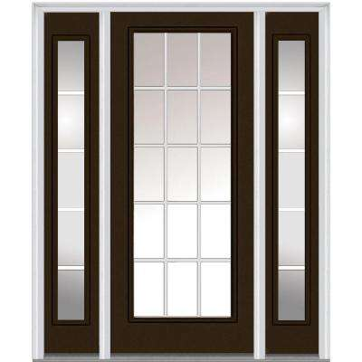 front door with one sidelightSingle door with Sidelites  Steel Doors  Front Doors  The Home