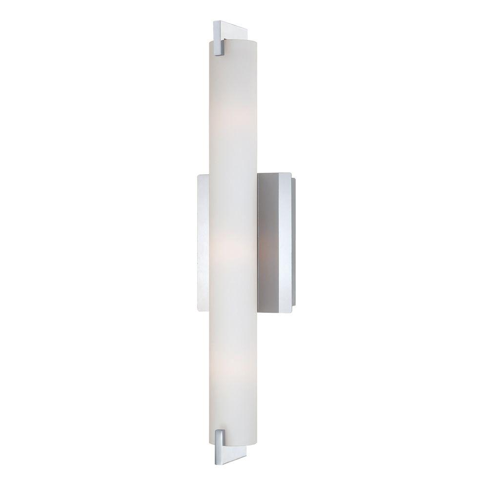 Eurofase Zuma Collection 3 Light Chrome Wall Sconce