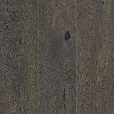 Waterproof Flooring Taupe Oak 6.5 mm T x 6.5 in. W x 48 in. L Click Engineered Hardwood Flooring (21.67 sq. ft. / case)