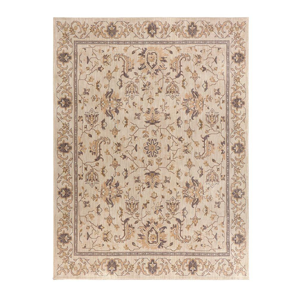 Home Decorators Collection Jackson Beige 8 Ft X 10 Ft Area Rug 509286 The Home Depot