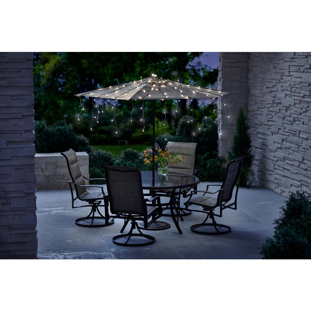 Patio String Lights Home Depot: Umbrella String Lights (150-Count)-KF01006