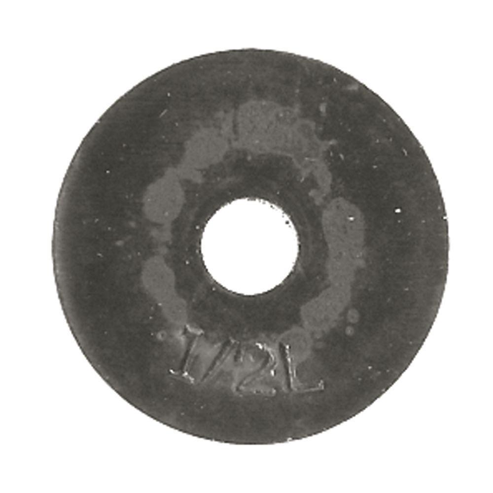 1/2L Beveled Washers (10/Card)