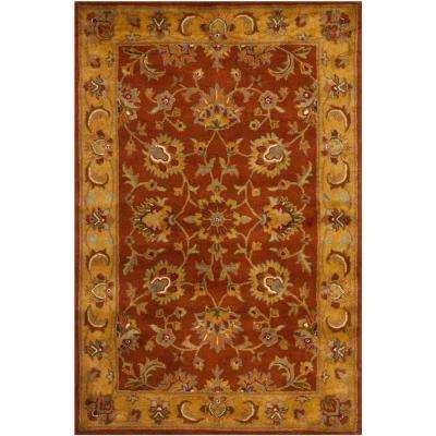 Heritage Red/Natural 4 ft. x 6 ft. Area Rug