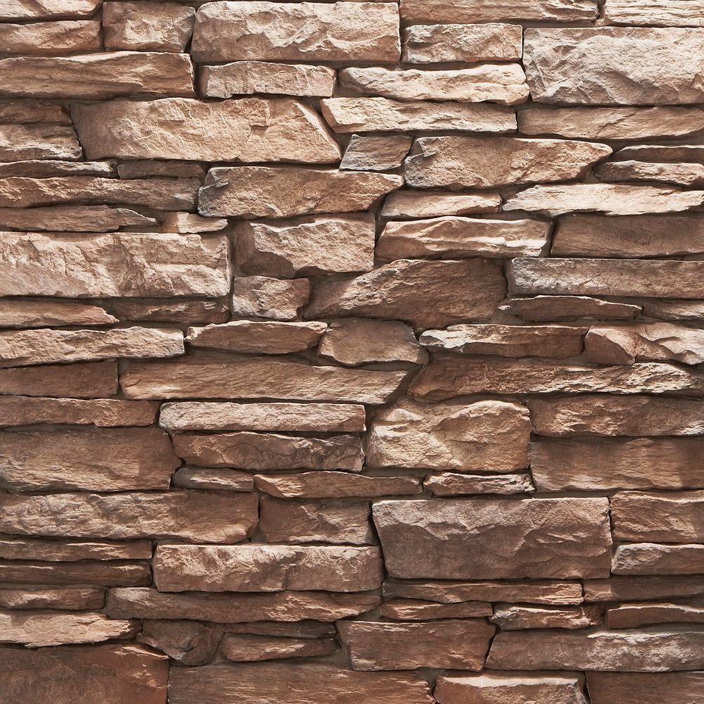 Shadow Ledge Stone Kanella 150 sq. ft. Bulk Pallet Manufactured Stone