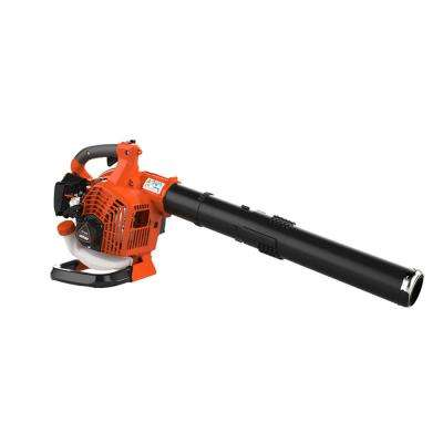 172 MPH 456 CFM 25.4cc Gas 2-Stroke Cycle Handheld Leaf Blower
