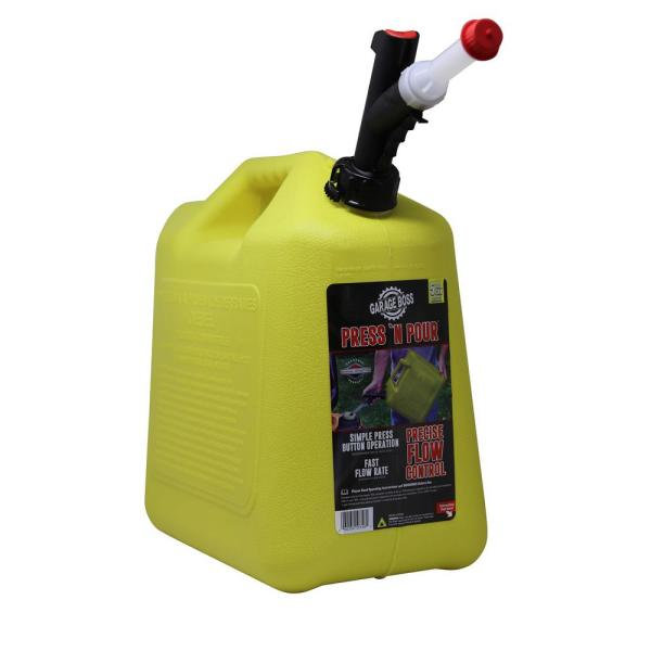 GB356 GarageBoss Press N Pour 5 Gallon Diesel Can