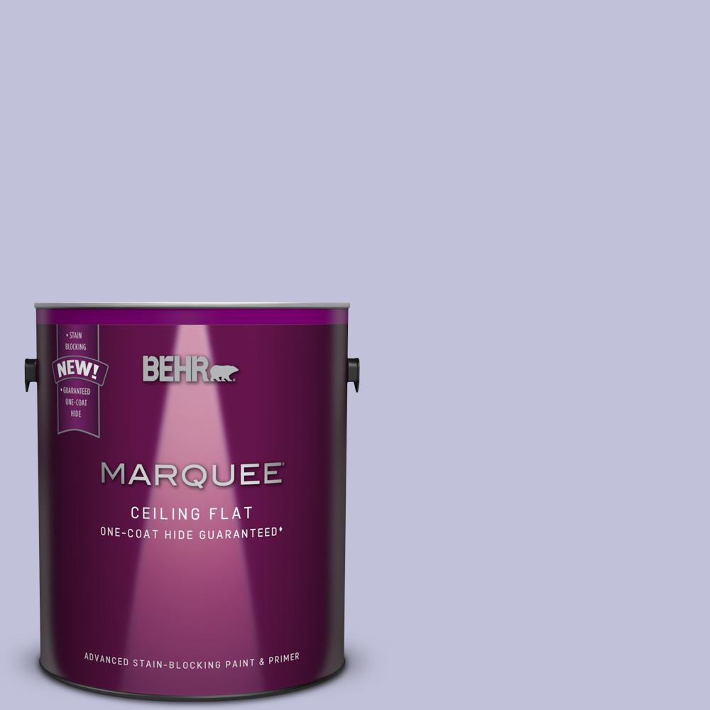 1 gal. #M550-3 Tinted to Foxglove Flat Interior Ceiling Paint and