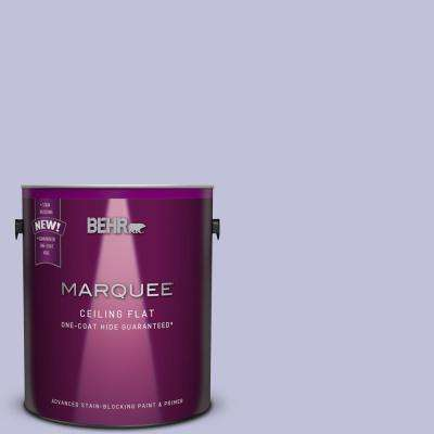 1 Gal. #M550-3 1-Coat Hide Tinted to Foxglove Interior Ceiling Paint