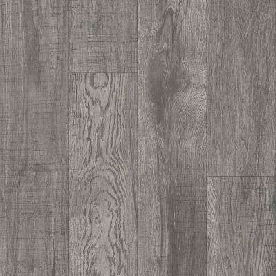American Home Alpine Frost 6.5 in. x 48 in. Glue Down Luxury Vinyl Plank (34.66 sq. ft. / case)