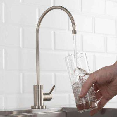 Purita Single-Handle Water Dispenser Faucet for Water Filtration System in Spot Free Stainless Steel