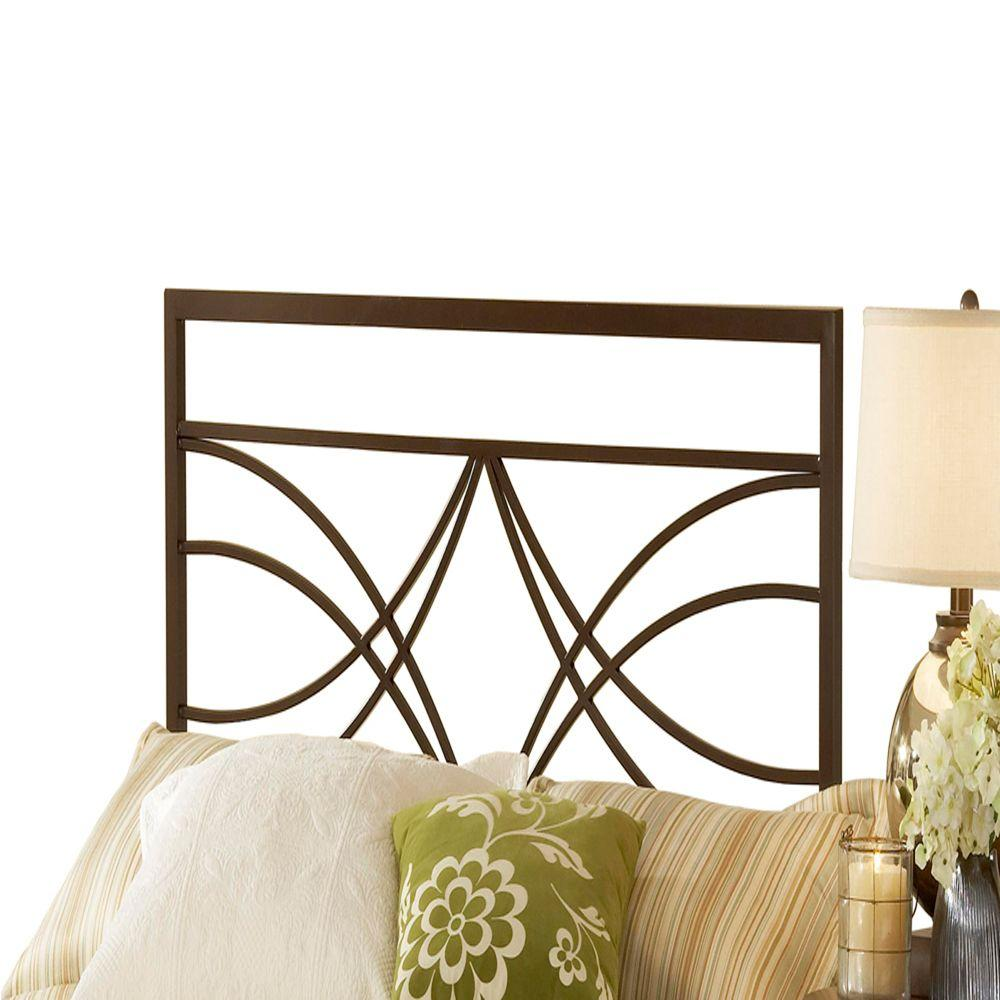 Hillsdale Furniture Dutton Brown Crystal Full and Queen-Size Headboard-DISCONTINUED