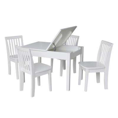 3a3cdc646b8 Solid Wood - Kids Tables   Chairs - Playroom - The Home Depot
