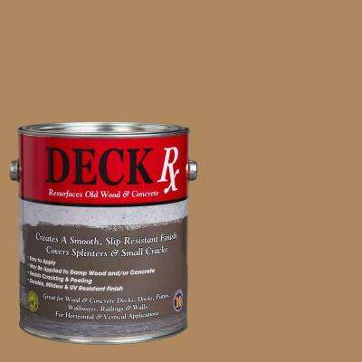Deck Rx 1 gal. Khaki Wood and Concrete Exterior Resurfacer