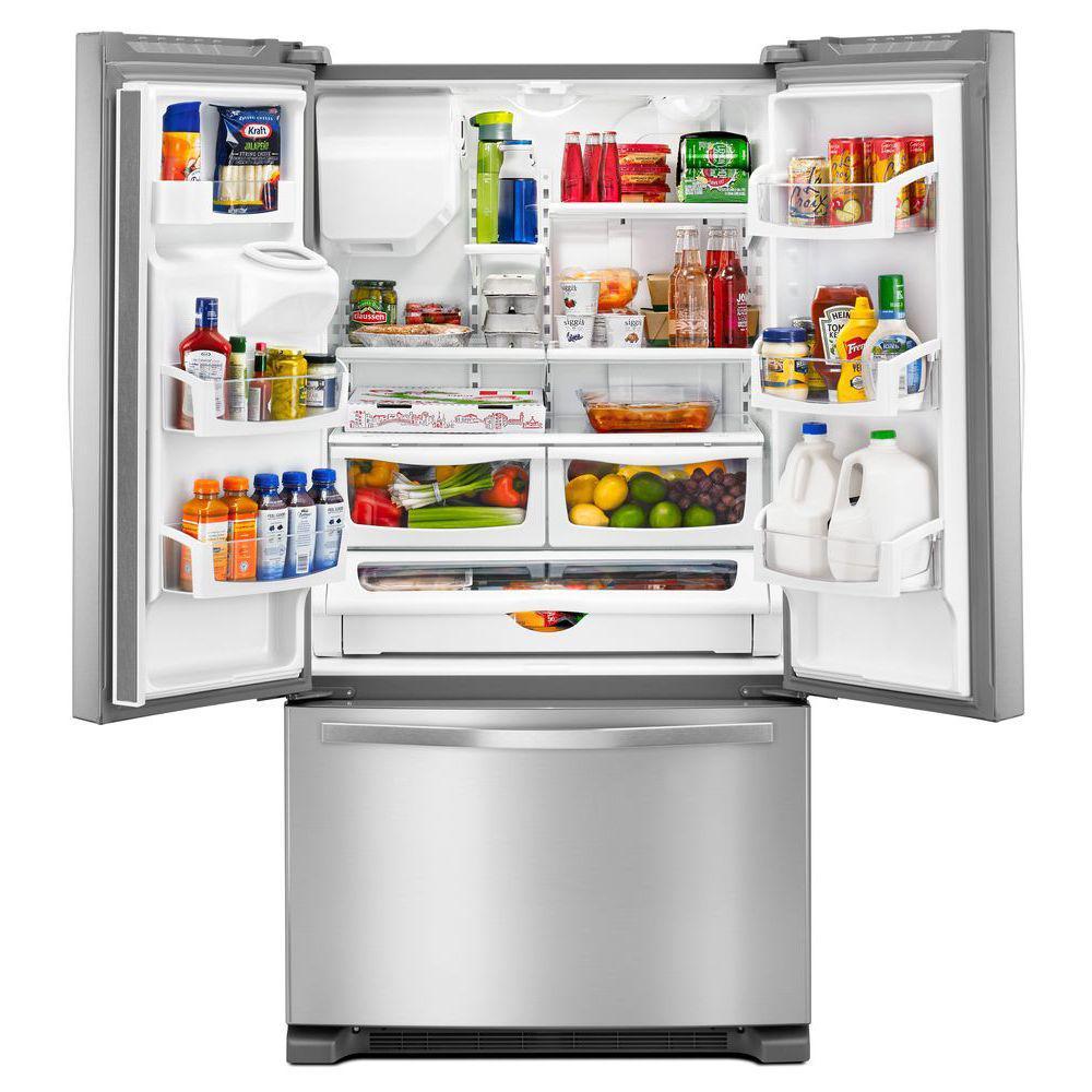 25 cu. ft. French Door Refrigerator in Fingerprint-Resistant Stainless Steel