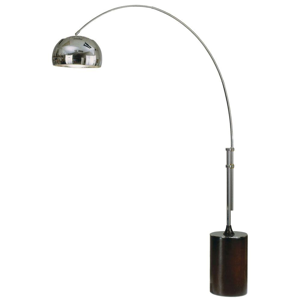 Nova contour 80 in 1 light polished chrome arc lamp 4361cx the nova contour 80 in 1 light polished chrome arc lamp aloadofball