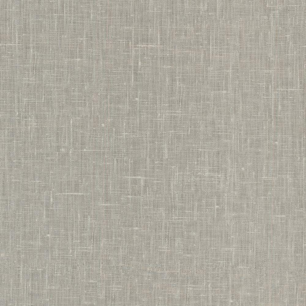 Beyond Basics Linge Light Grey Linen Texture Wallpaper 420