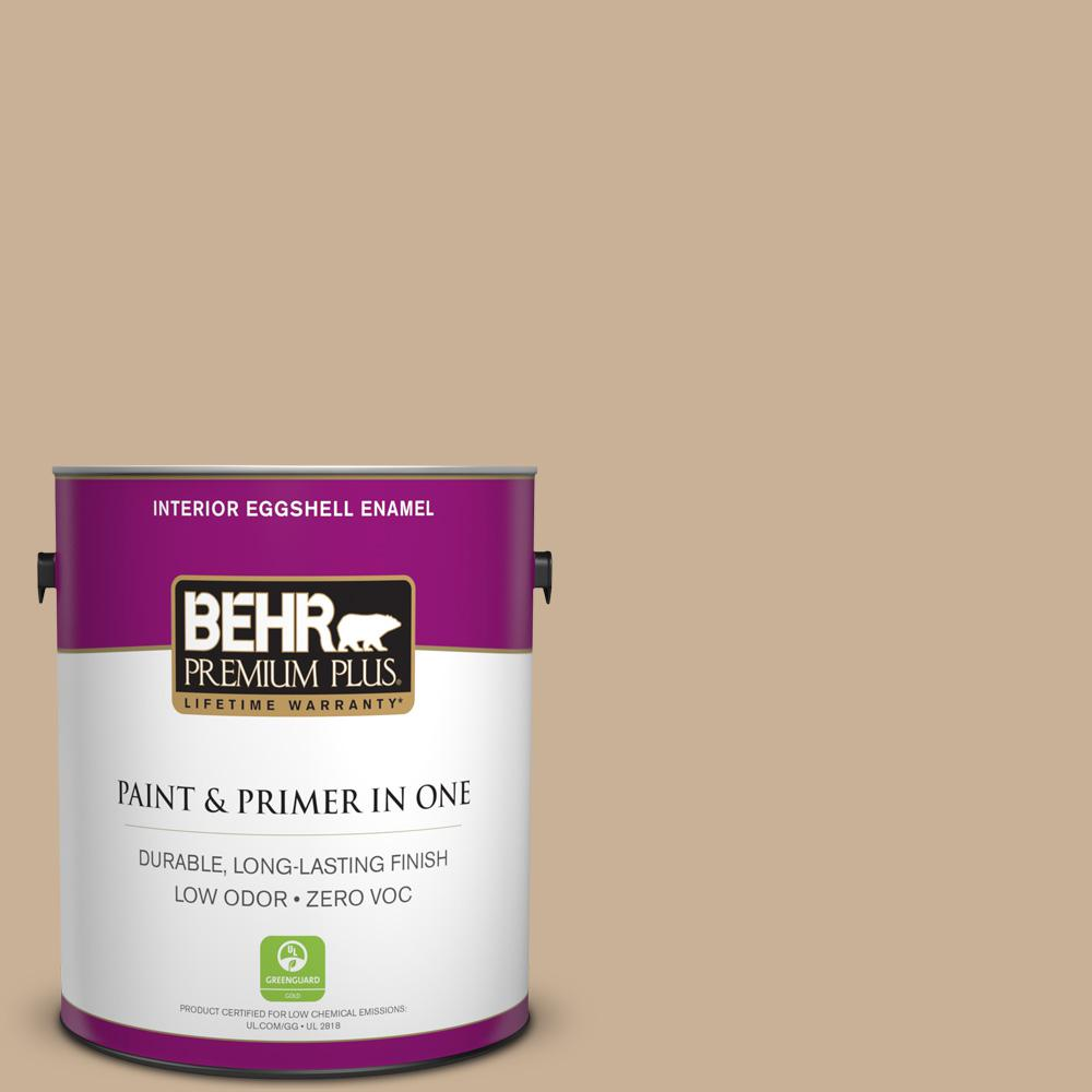 1 gal. #MQ2-46 Basswood Eggshell Enamel Zero VOC Interior Paint and