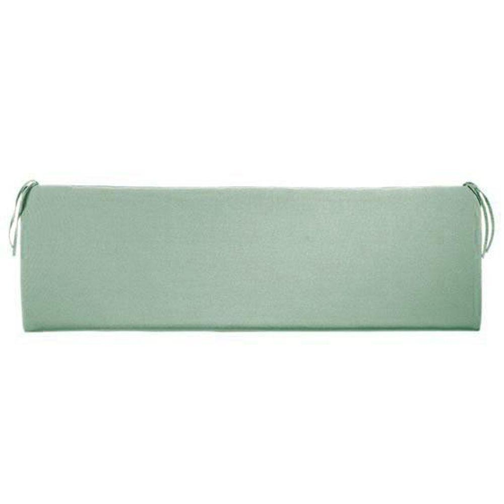 Home Decorators Collection Sunbrella Mist Outdoor Bench Cushion