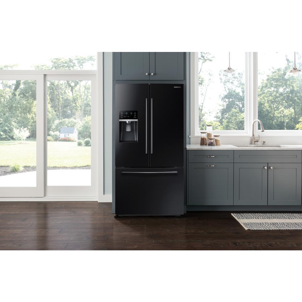 store so sku 11 samsung 225 cu ft french door in black counter depth