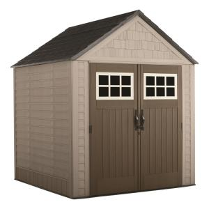 Rubbermaid Big Max 7 Ft X 7 Ft Storage Shed 2035892