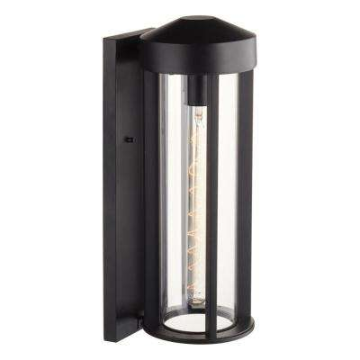 Beckham 1-Light Black Outdoor Wall Mount Sconce