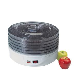 Click here to buy Elite Gourmet 5-Tray Food Dehydrator by Elite.