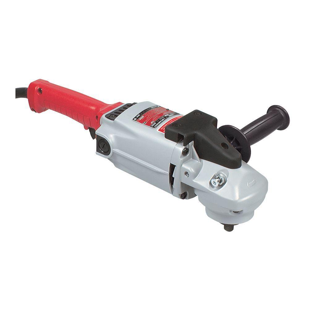 15 Amp Corded 7-9 in. 6000 RPM Grinder/Sander
