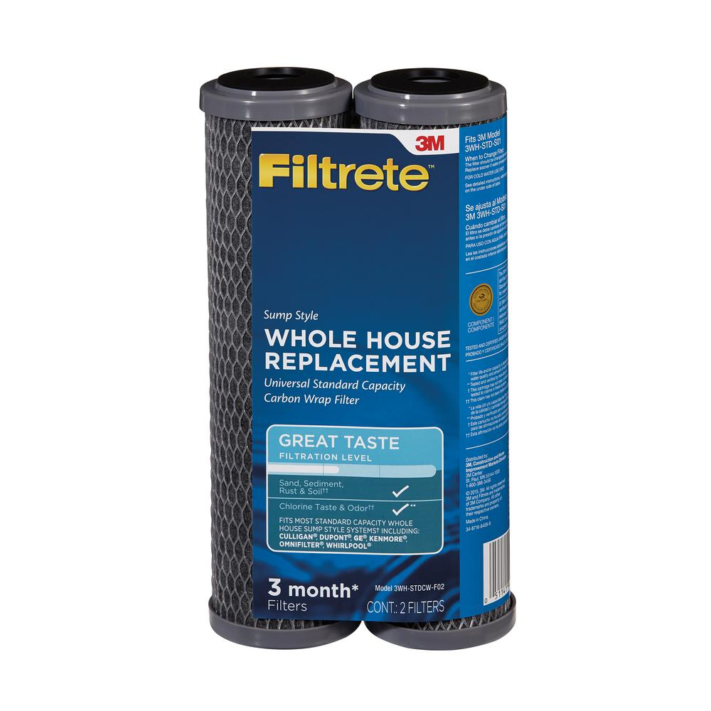 Filtrete Standard Capacity Whole House Pre-Filtration Sump System Drop-In Refill