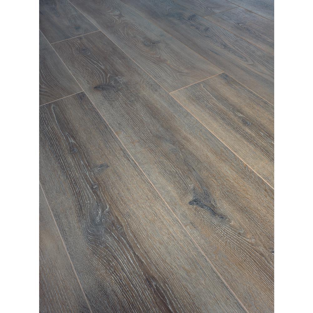 Take Home Sample - EIR Venbrook Oak Laminate Flooring - 5 in. x 7 in.