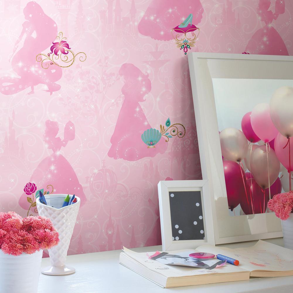 28.29 sq. ft. Disney Princess Peel and Stick Wallpaper
