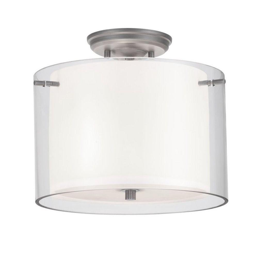 Filament Design Celestial 2-Light Chrome Incandescent Semi