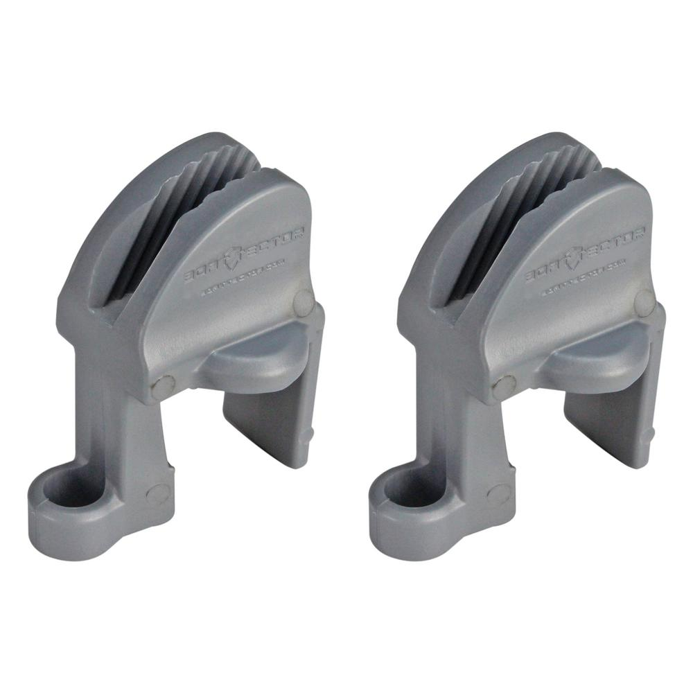 Extreme Max BoatTector Quick Adjust Pontoon Rail Fender Hanger (2-Pack)