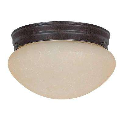 Coburn 2-Light Oil Rubbed Bronze Flush Mount
