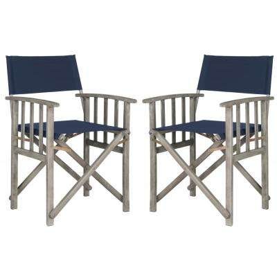 Laguna Green Folding Director's Chair (Set of 2)