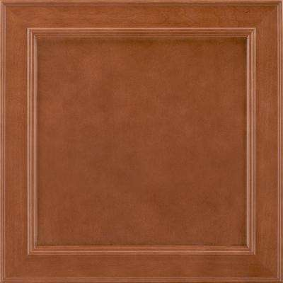 14-9/16x14-1/2 in. Cabinet Door Sample in Brookland Maple Cognac