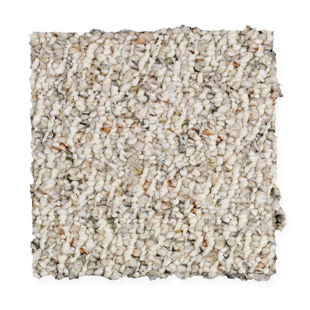 Carpet Sample - Speeding - Color Moonbeam Loop 8 in. x 8 in.